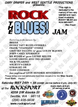 ROCK THE BLUES JAM NIGHT