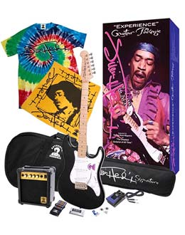 JIMI HENDRIX ELECTRIC GUITAR PACKAGES