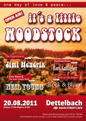 It`s a little Woodstock