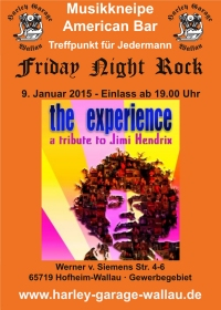 THE EXPERIENCE plays JIMI HENDRIX