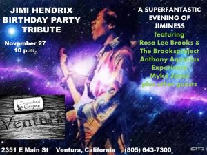 Jimi Hendrix Birthday Party