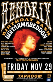 Guitarmageddon Jimi Hendrix Birthday Bash
